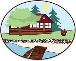 Kushog Korners Cottage Resort logo